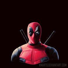#Deadpool #Fan #Art. (Deadpool) By: KMArts. ÅWESOMENESS!!!™ ÅÅÅ+