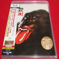 The Rolling Stones - Grrr! - Japan Blu-ray Audio - PROT-4008 - CD