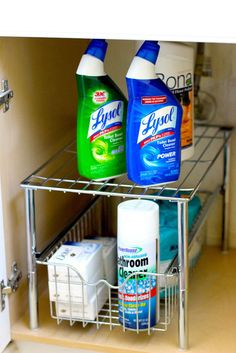 Under Sink Cabinet Sliding Kitchen Pantry Basket Organizer Storage Shelf Drawer #DecoBros