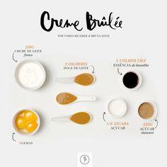 Delícia certeira: creme brûlée de doce de leite - Casa Vogue | Comida & bebida