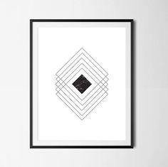 Items similar to Geometric Wall Art, Minimalist Art, Geometric Poster, Minimalist Poster, Black And White on Etsy Geometric Poster, Geometric Wall Art, Minimalist Poster, Minimalist Art, Office Decor, Scandinavian, Texture, Black And White, Unique Jewelry