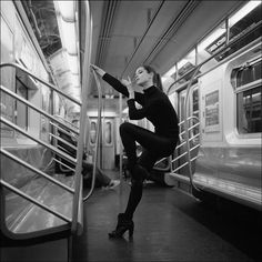 .            Sara - New York City subway  Become a fan of the Ballerina Project on Facebook.  Follow the Ballerina Project on Pinterest