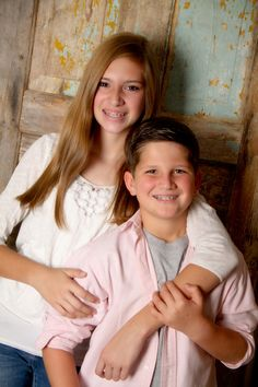 """""""Sibling Love"""" Portrait Creations Professional Teen Portraits in Charlotte, NC."""
