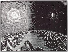 M.C. Escher - The Fourth Day Of Creation