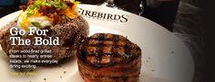 Firebird Restaurant Chandler Menu