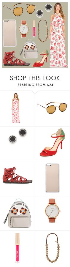 """""""fashion for women's"""" by denisee-denisee ❤ liked on Polyvore featuring Tularosa, Garrett Leight, Marc Jacobs, Charlotte Olympia, Rebels, Zero Gravity, Fendi, Nixon, Stila and Weekend Max Mara"""