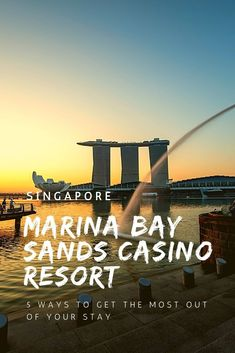 With the diverse and fascinating blend of attractions Singapore has to offer, there is one that literally towers over the rest - Marina Bay Sands casino resort