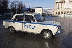 Milicja, Stan Wojenny, PRL, Poland Country, Fiat 126, Car Polish, Good Old Times, Emergency Vehicles, My Heritage, Police Cars, Warsaw, Retro Design