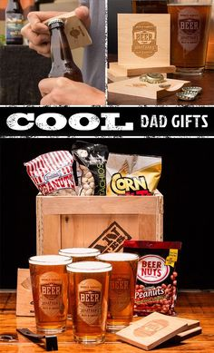 Personalized Barware Crate. Awesome Father's Day find! | ManCrates