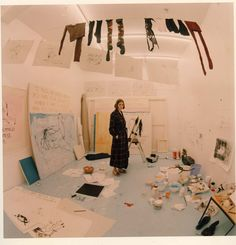 Tracey Emin: Speaking Softly [Interview originally published in Patron magazine] Atelier Photo, Tracey Emin, Art Moderne, Art Studios, Artist At Work, Art Direction, Contemporary Art, Illustration Art, Photo Wall
