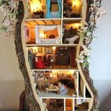 The Miniature Mouse Tree House