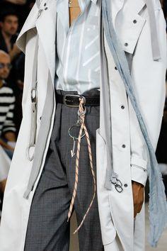 Lanvin Spring 2017 Menswear Fashion Show Details / #MIZUstyle
