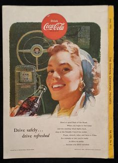 Coca-Cola Vintage Advertisement From The June 1953 National | Etsy