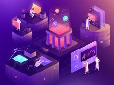 Cryptocurrency Illustration by Ghani Pradita