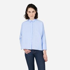 Everlane | The Japanese Oxford Square Shirt