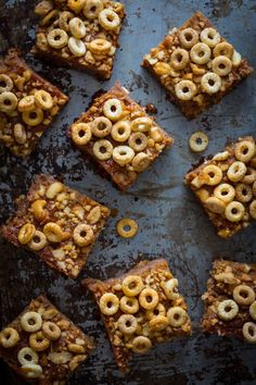 Honey Nut Snack Bars on healthyseasonalrecipes.com #backtoschool #snack