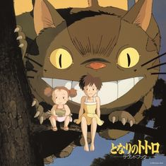 My Neighbor Totoro Characters, Joe Hisaishi, Studio Ghibli Movies, Japanese Imports, Cats Bus, Manga Covers, Hayao Miyazaki, Soundtrack, Drawings