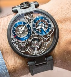 "Bovet Pininfarina OttantaSei 10-Day Tourbillon Watch Hands-On - by Ariel Adams - on aBlogtoWatch.com ""For 2016, Swiss Bovet presents the latest timepiece as part of the brand's ongoing design collaboration with the famed automotive (for the most part) design firm Pininfarina in Italy. aBlogtoWatch debuted the first watch from this relationship back in 2010 with the Bovet Pininfarina Ottana Tourbillon. Since then, there have been a range of relatively affordable models..."""