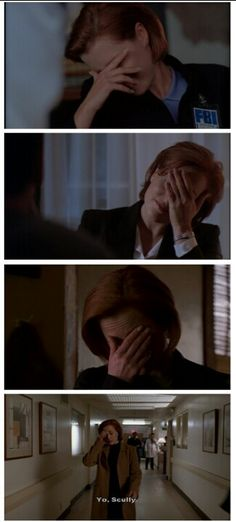 No one face palms like Scully #XFiles #Scully I'm using these next time I need a face palm--<3 Scully!