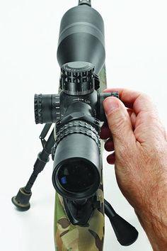 sniper school: Precision Long-Range Shooting Tips, Push/Pull dialing