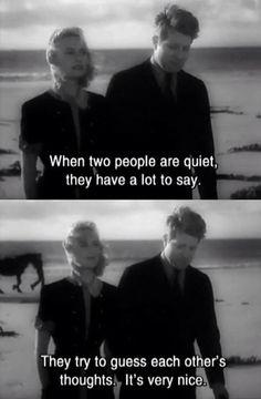 Very quiet.