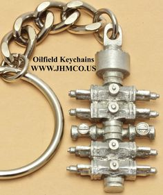 blowout preventer bop oilfield keychain christmas gift for oil and gas worker john h