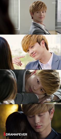 We're obsessed with BtoB's Sungjae in School 2015! Marathon the entire series on DramaFever! #TeamTaeKwang