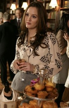 pussy BOW with BOW pattern 2.15 #Blair Waldorf #Gossip Girl