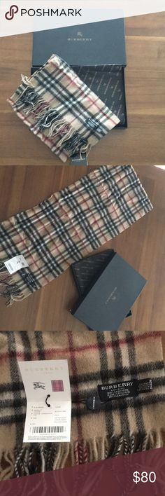 Burberry scarf NWT and box Burberry scarf Burberry Accessories Scarves & Wraps