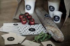 Identity & packaging design by Eszter Laki for Kispiac