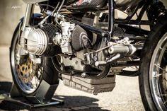 Bmw R90 Interceptor by Radical Ducati & Max Boxer