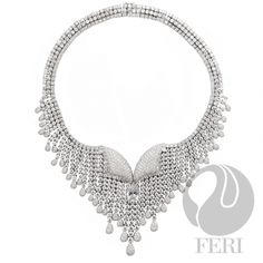Global Wealth Trade Corporation - FERI Designer Lines Star Necklace, Wealth, Branding Design, Jewelery, Display, Sterling Silver, Diamond, Budapest Hungary, Accessories