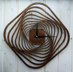 Z Photo, Wall Clock Design, Interior Work, Scroll Saw Patterns, Wood Work, Laser Cutting, Industrial Design, Clocks, Metal Working