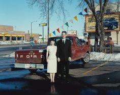 Alec Soth - Pamela & Allen, 1988 Ford F-150 (2007)