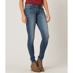 Flying Monkey Skinny Stretch Jean ($70) ❤ liked on Polyvore featuring jeans, blue, stretch jeans, blue skinny jeans, zipper skinny jeans, stretch denim jeans and stretchy skinny jeans