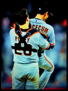No Hitter Tim Lincecum and Buster Posey cc148d754