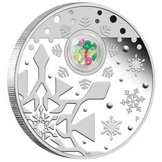 Great for the Holidays, Buy This 2012 Australian 1 oz Proof Silver Christmas Locket Coin From Gainesville Coins Today! Get in the Christmas Spirit! Bullion Coins, Silver Bullion, Silver Christmas, 1st Christmas, Christmas Ornaments, Semi Precious Gemstones, Precious Metals, Silver Investing, Coin Auctions