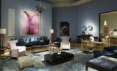 Studio David Collins TOP UK Interior Designers | Find your interior design inspirations at http://brabbu.com/blog/2015/05/top-interior-designers-uk/