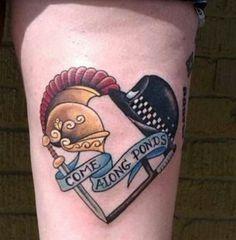 Cute doctor who tattoo