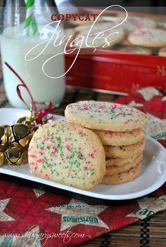 Homemade Jingles Cookies - Shugary Sweets