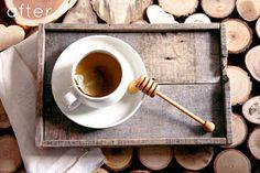 Hacer bandeja con palets de madera