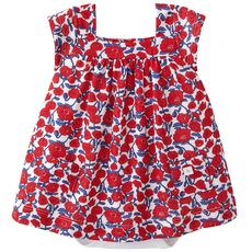 Petit Bateau - Tube knit and cotton jersey dress bodysuit - 113854
