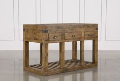 Carey Kitchen Island, None