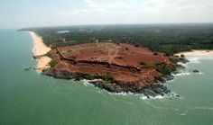 Bekal Fort-arial view