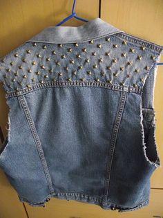 customização colete jeans - Pesquisa Google