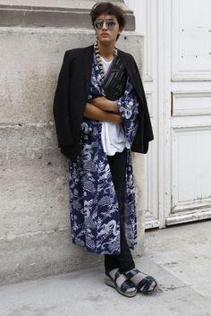 Oriental sports fashionable man
