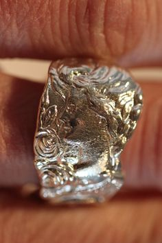 Sterling Spoon Ring, Antique Sterling Silver Kentucky Souvenir Spoon, Thoroughbreds, Gibsons Girl, Rye, c. 1899, Paye & Baker by SpoonRing925 on Etsy https://www.etsy.com/listing/228040979/sterling-spoon-ring-antique-sterling