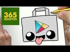 COMO DIBUJAR LOGO TWITTER KAWAII PASO A PASO - Dibujos kawaii faciles - How to draw a Logo twitter - YouTube