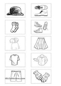 This ws contains clothes / colours / have got exercises