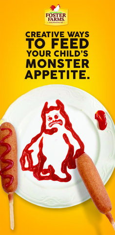 Creative ways to feed your child's monster appetite.